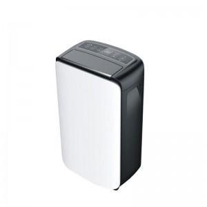 EUROLAMP, Αφυγραντήρας 10L 200W 220-240V λευκό - μαύρο (147-29630)