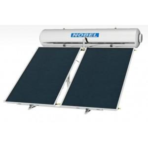 NOBEL classic 200lt  3m² Glass boiler Ηλιακός III ενεργείας με 2 επιλεκτικούς συλλέκτες 1,5m²