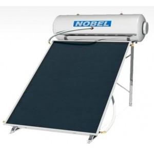 NOBEL classic 200lt  2,6m² Inox boiler Ηλιακός II ενεργείας με 1 επιλεκτικό συλλέκτη 2,6m²