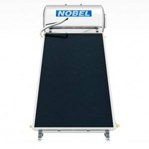NOBEL classic 160lt  2,6m² Inox boiler Ηλιακός III ενεργείας με 1 επιλεκτικό συλλέκτη 2,6m²